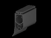 Kontaktleistenprofil 25x45mm, mit Dichtungslippe