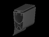 Kontaktleistenprofil 35x55mm, mit Dichtungslippe