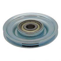 Seilumlenkrolle Stahl 60x10mm - 3mm Seil