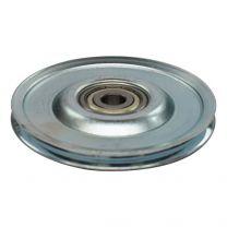 Seilumlenkrolle Stahl 80x10mm - 4mm Seil
