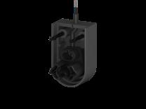Endkappe mit Stecker für Profile C, D, Kabellänge 10m