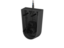 Endkappe mit Stecker für Profile E, F, Kabellänge 10m