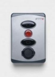 Marantec Druckknopfkasten mit Schlüsselschalter Command 613