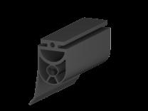 Kontaktleistenprofil 25x30mm, mit Dichtungslippe