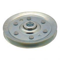 Seilumlenkrolle verzinkter Stahl 64x10mm - 3mm Seil