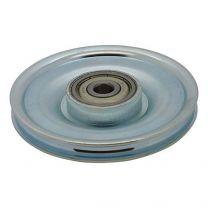Seilumlenkrolle verzinkter Stahl 100x10mm - 5mm Seil