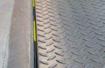 Spaltabdichtung hinten für Überladebrücken 40mm, Länge 2250mm