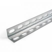 Winkelprofil perforiert mit Schlitzlöcher, 30x30mm
