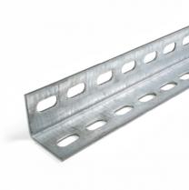 Winkelprofil perforiert mit Schlitzlöcher, 40x40mm