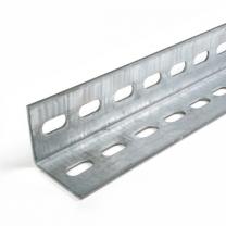 Winkelprofil perforiert mit Schutzlöcher, 50x50mm